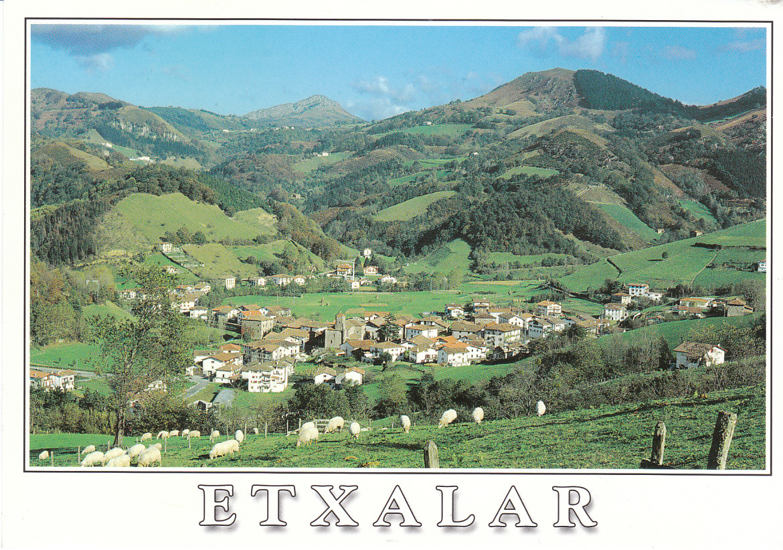 Postkarte aus Etxalar
