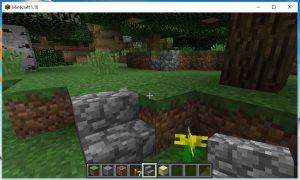 Screenshot der Spielansicht