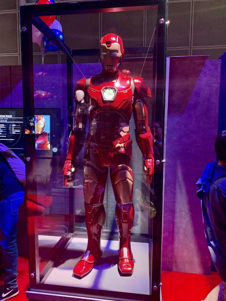 Der Anzug von Iron Man.