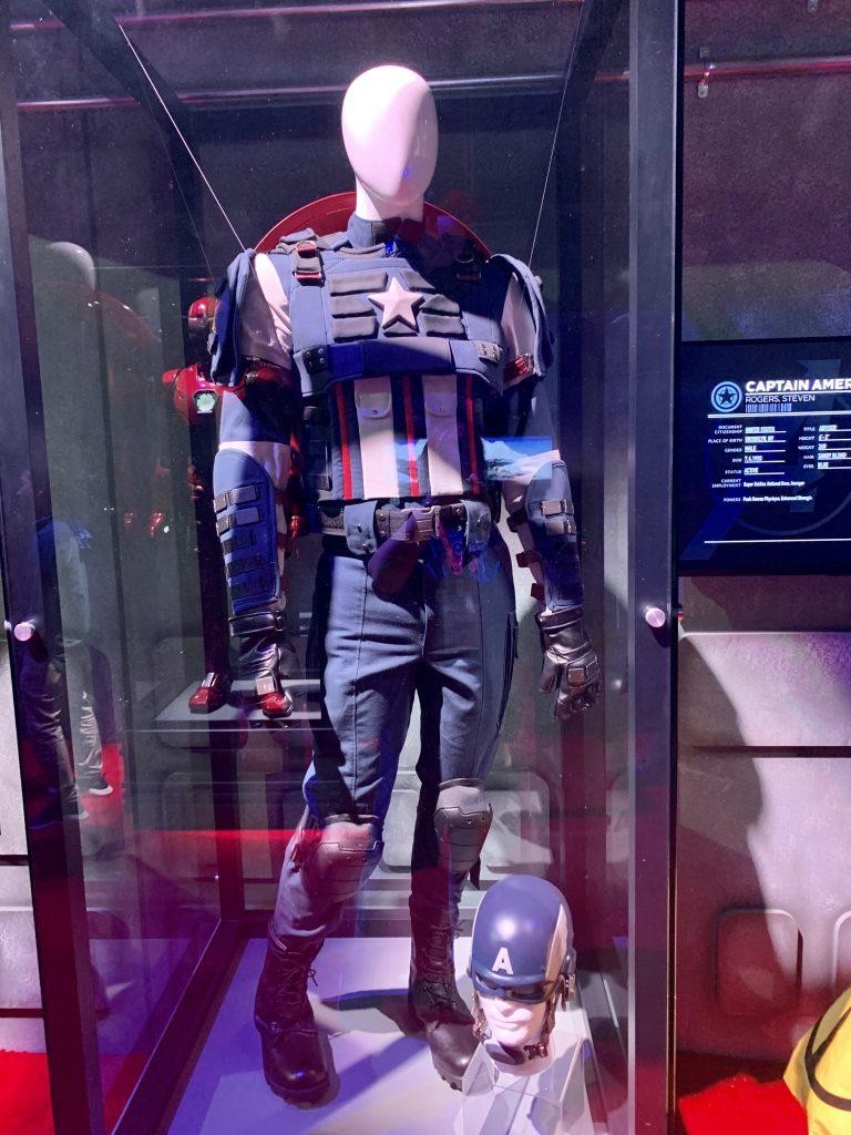Das klassische Outfit von Captain America.